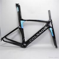 Wholesale Bike Frame 54 - 2017 colnago concept road bike carbon frame full carbon fiber road bike frame 48 50 52 54 56cm T1000 carbon frameset C06