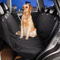 Wholesale Seat Cover For Pets Wholesale - 2017 dog cat car rear seat cover Waterproof Back Bench Seat 600D Oxford Car Interior Travel Accessories Car Seat Covers Mat for Pets Dogs