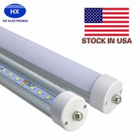 Vente De Tubes Fluorescents Led Pas Cher-Stock En US 8 pieds conduit 8ft simple broche FA8 Single Pin LED Tubes Light 45W 4800Lm LED Fluorescent Tube Lampe vente chaude