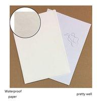Wholesale Cash Register Wholesalers - top quality Cash Register Paper Type banknote paper cotton linen texture rough feel paper high quality 100sheets