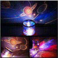 Wholesale Masters Universe Wholesale - Wholesale- Music universe Lights Hot Rotating Musical Star Sky Master Projectors Led Blue Light Amazing Night Sky Light Romantic Lamp