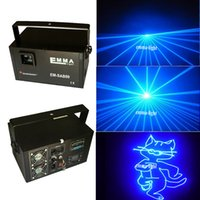 2 watts azul SD Animation Club Laser Lighting Projector