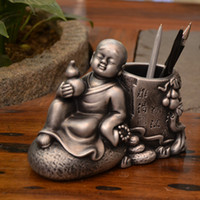 Wholesale Mail Money - China Creative Zen monk monk wind retro woolly birthday gift ornaments jewelry bag mail pen