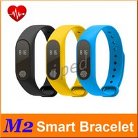 Wholesale Cheapest Wristbands Wholesale - Cheapest 50pc M2 Smart Band Fitness Tracker Smart Bracelet Heart Rate Sport Waterproof Bluetooth Wristband For Android IOS PK Xiaomi Mi Band