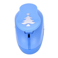 Wholesale Craft Embossing Machines - Wholesale- 4 Colors Puncher Scrapbooking Punches Shaped Hole Punch Paper Cutter Scrapbook Embossing Machine Decorative Craft Perforator