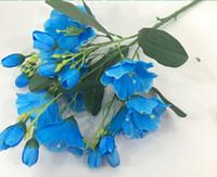 ingrosso fiori di tocco reale di qualità-Home / Wedding Decoration Flowers Real Touch Fiori artificiali di qualità