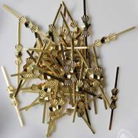 Wholesale Bow Lamp - 500pcs 25MM Chandelier Lamp Parts Beads Connector Metal Bowtie Bow Tie Pins