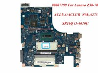 Wholesale lenovo laptop motherboards online - High Quality Product For Lenovo Z50 Laptop Motherboard ACLUA ACLUB NM A273 SR16Q i3 U DDR3L Tested