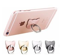 Wholesale Stand Ring Box - cell phone mout mobile phone holder 360 Degree finger ring Smartphone Stand wholesale retail box bag packing