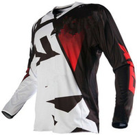 Wholesale Children S Motorcycles - Kids Racing Set DH Downhill MTB Breathable Motorcycle Bike Bicycle T Shirt Long Sleeve Airline Cycling Jersey Child Outdoor Sports T-shirt