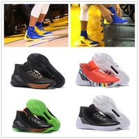 Wholesale High Sneakers For Basketball - NEW 2017 What the Curry 3 Special Version Great Lord PE Lights Out Basketball Shoes for High quality Stephen III Sports Sneakers Size 40-46