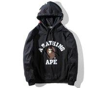 Wholesale Ovo Jacket - Mens Love Sportwear Coat Jogger Tracksuit Zipper Fleece Sweatshirt Crewneck Bird OVO Drake Black Hip Hop Hoodie Men Shark mouth jacket