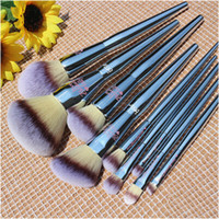 Wholesale Make Up Brushes Foundation - Ulta it brushes set Makeup Brushes 9pcs Ulta it cosmetics foundation powder fan make up kabuki brush tools