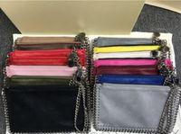 Wholesale Vintage Metal Wallet - Factory Sale falabella Shaggy Deer PVC chain metal Pendant lady Coin Purse Phone Pocket Cluth purse