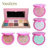 Wholesale Condition Yellow - Wholesale-Newest Beauty Killer Eyeshadow Palette SKIN FROST Cosmetics Bronzer Highlighter Dark Horse Ice Cold Mint Condition Bronzer