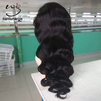 Wholesale Trade Brazilian Hair - xintianlun best sales products in alibaba 24 inch human braiding hair full lace wig,small quantity order front lace wig in ali trade