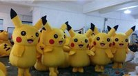 Wholesale Hot Fancy Dress Costumes - 2017 Hot new Pikachu Mascot Costume Fancy Dress Outfit Pikachu Mascot Costumes ems free shipping