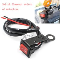 Wholesale Led Light Belt Car - Motorcycle beach car, electric car, switch off switch LED light switch after the mirror fixed belt wire harness installation, small and beau
