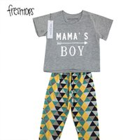 INS Halloween Two-piece Set Baby Boy Girl 2PC Костюм с длинным рукавом с длинным рукавом Top + Pant 1st Birthday Outfits Mamas New Born Clothes