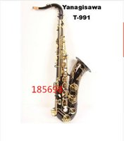 Wholesale Curved Soprano - Wholesale- DHL Free shipping high-quality Yanagisawa Tenor Saxophone B A-901 Curved Soprano Baritone Musical Instruments Professional Sax