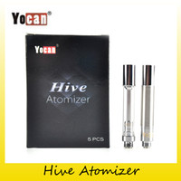 Wholesale Genuine Cartridges - Authentic Yocan Hive Atomizers Wax Vaporizer & Oil Cartridges No Leakage Design for Yocan Hive 2in1 kit tank 100% Genuine 2204033