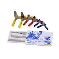 Wholesale James Bond Tool Pick Set - 6PCS Padlock Shims Lock Pick Tools Locksmith + James Bond Pocket credit card lock pick set (5 pcs)