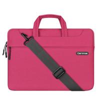 Wholesale Purple Macbook Pro 13 - 13.3 15.4 Inch Multi-functional Suit Fabric Portable Laptop Sleeve Case Bag for Laptop, Tablet, Macbook, Notebook - Grey,purple ,black,blue
