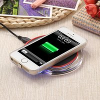 Wholesale Power Support Iphone Wholesale - 2017 Qi Wireless Charging Support Type-C Micro USB Power Wireless Charger For Apple IPhone 7 5 5C 5S 6 6Plus With Retail Package WXK10