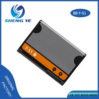 Wholesale Oem Battery Cell Phone - 2017 OEM Phone Battery For Blackberry F-S1 1270mAh Cell Phone Battery for Torch 9800 2 9810