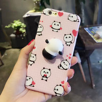 3D Squishy Squish Funny Cute Silicone Cartoon Animal Cool Stress Relieve Cover Case Accessoires Cat pour iPhone Phone