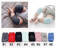 Wholesale baby knee pad protector for sale - Group buy Baby crawling support safety outdoor knee pads for child Antislip cotton pad Leg calf compression kneecap cycling knee protector MK015