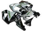 kit de carenado motocicleta honda 954 al por mayor-3 regalos gratis Kit de carenado de motocicleta Para HONDA CBR900RR 02 03 CBR 900RR 954 2002 2003 Conjunto de carenados de ABS Blanco Negro AF15