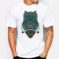 Camping Randonnée T-shirts Hommes t-shirt mignon anime Cartoon Animal Night Owl T-shirt Amoureux Couple Tshirt T-shirts à manches courtes tee-shirt homme