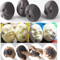 Wholesale caomaru face stress ball - Stress Relief Toys Squeeze Japanese Gray Caomaru Stress Novelty Face Ball Adult Vent Funny Toy Mini Squeeze Ball Pressure Reduce Gift