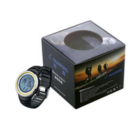 Wholesale Barometer Compass Watch - Wholesale- SUNROAD Adult Outdoor Sports Wrist Watch Compass Altimeter Barometer Thermometer Wristwatch Fitness Pedometers Equipment