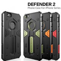 funda protector nillkin al por mayor-Resistente a golpes Armor Hybrid Protective Case Nillkin Rugged Shield Protectores traseros para iPhone 7s 7 Plus 6s 6 8 X