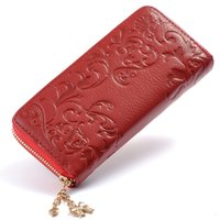 Wholesale Vintage Coin Wallet - European and American hot sale leather oil wax trade explosion and hold the wallet-long-term