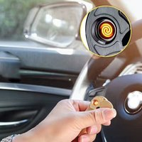 Wholesale Light Cigarette Lighter Rechargeable - Usb rechargeable electronic Eco-friendly lighter & fidget finger spinner metal Stress Reducer Relieves ADHD Anxiety hot selling