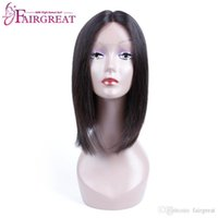 Wholesale Silky Straight Lace Wigs - Brazilian Lace Front Human Hair Silky Straight 150% Density Plucked Natural Hairline Remy Hair wigs Human hair Lace Wigs Wholesale Price