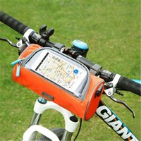 Wholesale Hot sale Waterproof Cycling Sport Bike Accessories Bicycle Frame Pannier Front Tube Bag b1159