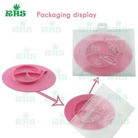 Wholesale Dish Child - Ellipse placemats Children Kid Baby baby silicon bowl One-piece silicone placemat + plate Baby learning silicone cups dishes S-03