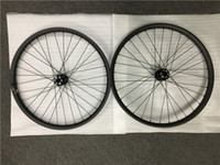 Wholesale 26 Rear Bicycle Wheel - 27.5er Carbon wheelset 35mm width mountain bicycle tubeless wheels with Powerway M81 HUB