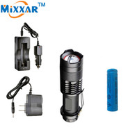 Wholesale Work Bicycle - New Bicycle 2500LM LED Flashlight LED CREE XM-L2 Bike Light 5-modes Zoomable Practical LED lanterna Flashlight+2*Charger+1*Battery