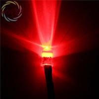 ingrosso 3w luce rossa del branello principale-Wholesale-20pcs LED 5 MM 12 v Pre-Wired Resistor Rosso rotondo Top 12 v DC 20 cm diodo di emissione FAI DA TE Per auto Lampada all'ingrosso