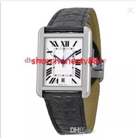 Wholesale Stainless Tank Watch - Luxury Watches High Quality Tank Solo XL Automatic Silver Dial Men's Watch W5200027
