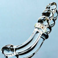 Wholesale Glass Dildos For Sale - 2017 Hot Sale Unisex Glass Anal Plug for Women Men gay Prostate Massage Masturbation Sex Toy