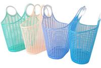 plastikgemüse großhandel-Neueste Große Kunststoff Tragbare Hand Küche Lagerung Einkaufskorb Obst Gemüsekorb