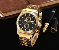 Wholesale High End Fashion Jewelry - 2017 AAA new Steel belt watch crime high-end luxury fashion brand quartz clock watch steel belt leisure fashion watches8