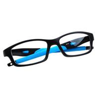Wholesale Silicone Eyeglasses - Wholesale- Silicone Optical Brand Eye Glasses Frame Eyeglasses Frames Eyewear Plain Glass Spectacle Frame