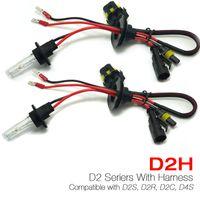 Wholesale Hid Xenon Lighting D2r - 35W D2H HID Xenon Light Bulbs Compatible with D2S D2R D2C D4S for Retrofit #4489